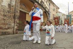 Religiös festival Royaltyfri Bild
