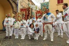 Religiös festival Arkivfoton