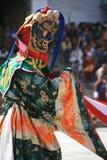 Religiös festival - Thimphu - Bhutan Royaltyfri Foto