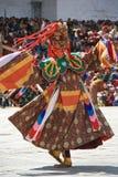 Religiös festival - Thimphu - Bhutan Royaltyfri Bild
