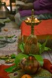 Religiös lampa Arkivfoton