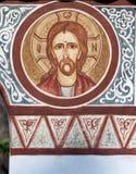 Religiös målning Arkivfoto