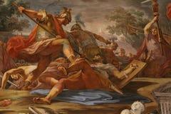 Religiös målning vektor illustrationer