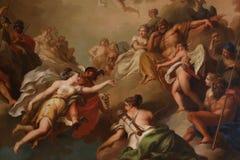Religiös målning royaltyfri fotografi