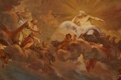 Religiös målning royaltyfri illustrationer
