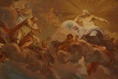 Religiös målning arkivbild