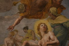 Religiös målning arkivfoton