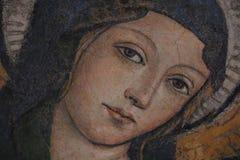 Religiös målning i Rome arkivfoton
