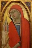 Religiös målning i Rome Arkivfoto