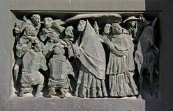 Religiös procession Royaltyfri Bild