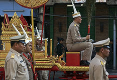 Religiös procession i Thailand Arkivfoton