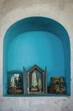 Religiös relikskrin Fotografering för Bildbyråer