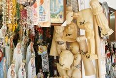 religiös stall för marknad arkivfoto