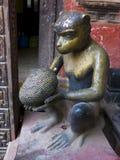 Religiös staty av Hanuman royaltyfri bild