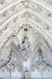 Religiös stenhuggeriarbete Royaltyfri Foto
