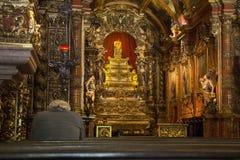 Religiös turism i Rio de Janeiro Downtown royaltyfria foton