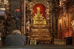 Religiös turism i Rio de Janeiro Downtown royaltyfri bild