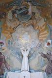 Religiös väggmålning Arkivbild