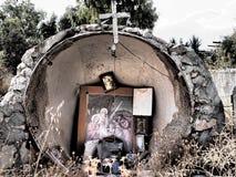 Religiösa kulturföremål Grekland Arkivbild