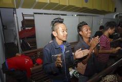 RELIGIÖSA MINORITETER AV INDONESIEN Royaltyfri Foto