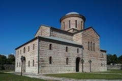 Religiösa ställen av den patriark- domkyrkan abkhazia pitsunda Fotografering för Bildbyråer