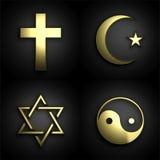 Religiösa symboler Royaltyfri Bild