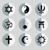 religiösa symboler Royaltyfri Foto