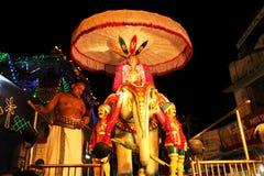 Religiöse Feier in Pushkar Lizenzfreies Stockbild