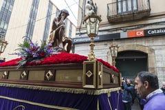 Religiöse Feiern von Ostern-Woche, Spanien Stockbilder