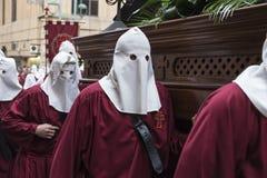 Religiöse Feiern von Ostern-Woche, Spanien Lizenzfreies Stockfoto