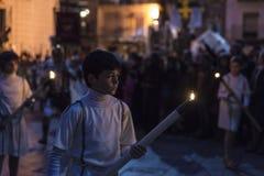 Religiöse Feiern von Ostern-Woche, Spanien Lizenzfreies Stockbild
