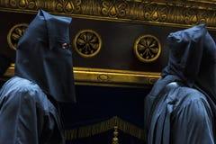 Religiöse Feiern von Ostern-Woche, Spanien Stockfotografie