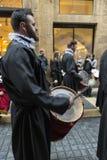 Religiöse Feiern von Ostern-Woche, Spanien Stockbild
