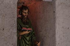 religiöse Figur im Haus Stockbilder