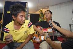 RELIGIÖSE MINDERHEITEN VON INDONESIEN Lizenzfreies Stockfoto