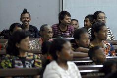 RELIGIÖSE MINDERHEITEN VON INDONESIEN Stockfoto