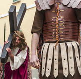 Religiöse Prozession Ostern Lizenzfreie Stockfotos
