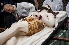 Religiöse Prozession Ostern Lizenzfreies Stockbild