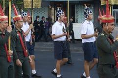 Religiöse Prozession in Thailand Stockfotografie