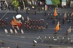 Religiöse Prozession in Thailand Lizenzfreies Stockfoto