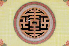 Religiöse Symbole von China Lizenzfreies Stockbild