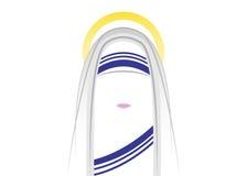 Religiöse Versammlung der Missionare von Nächstenliebe, Vektor stock abbildung