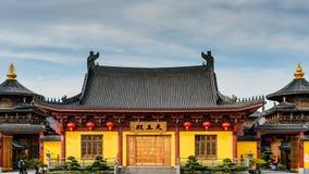 Religiöser Ksitigarbha Buddhismus ZenTaoShanghais China lizenzfreie stockfotos