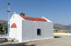 Religiöses Gebäude in Kreta Stockbild