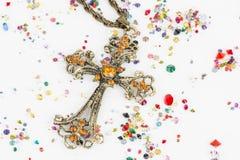 Religiöses Kreuz Lizenzfreie Stockfotografie