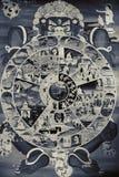 Religiöst symbol av cirkuleringen av liv i den buddistiska religionen Royaltyfri Foto