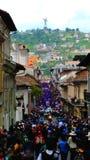 Religia korowód w Quito zdjęcie stock