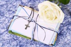 Religia, ochrzczenie, communion, potwierdzenie Zdjęcia Royalty Free