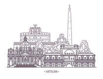 Religia punkty zwrotni watykan ilustracji