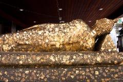 Religijna ikona z złocistą folią Zdjęcie Royalty Free